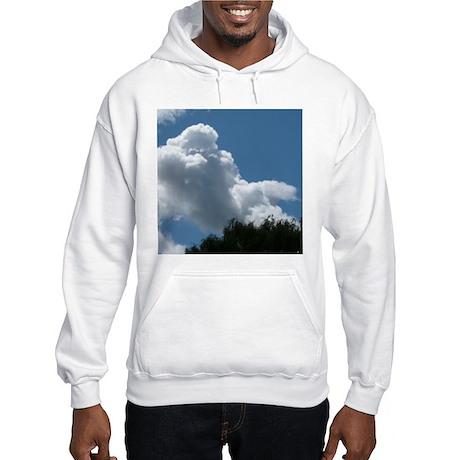 Poodle in Clouds? Hooded Sweatshirt
