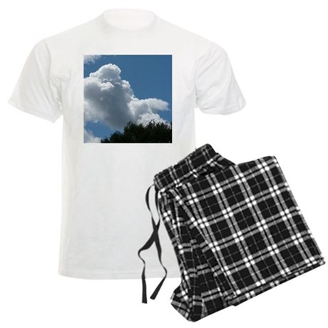 Poodle in Clouds? Men's Light Pajamas