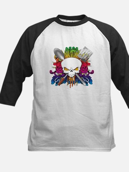 Chef Skull Kids Baseball Jersey