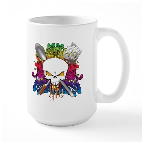 Chef Skull Large Mug