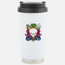 Chef Skull Stainless Steel Travel Mug