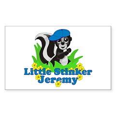 Little Stinker Jeremy Decal