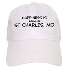 Happiness is St. Charles Baseball Cap