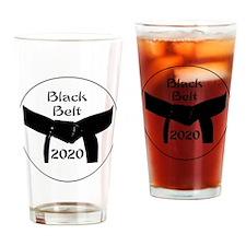 Martial Arts Black Belt 2015 Drinking Glass