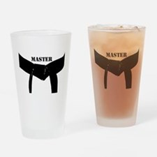 Martial Arts Master Drinking Glass