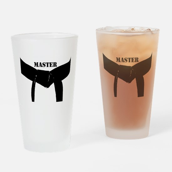 Martial Arts Master Drinking Glass