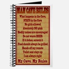 Man Cave Rules Journal