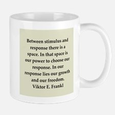 Viktor Frankl quote Small Small Mug