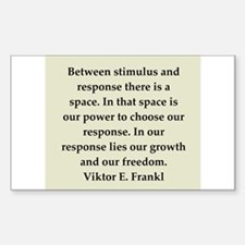 Viktor Frankl quote Decal