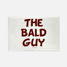 The Bald Guy Rectangle Magnet