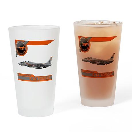 VF-114 Aardvarks Drinking Glass