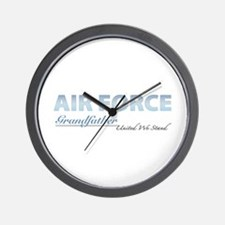 Air Force Grandfather Wall Clock