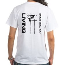 Lineman Living on the Edge Shirt
