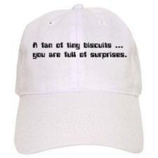 IT Crowd - A fan of tiny biscuits... Baseball Cap