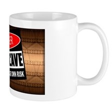 danger man cave Mugs