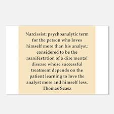 Thomas Szasz quote Postcards (Package of 8)