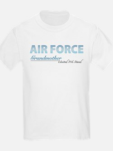Air Force Grandmother Kids T-Shirt