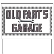 Cute Garage Yard Sign