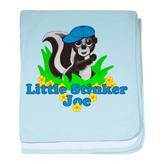 Little Stinker Joe baby blanket