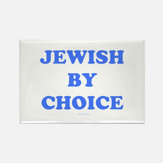 Jewish By Choice Rectangle Magnet