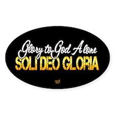 Soli Deo Gloria Decal