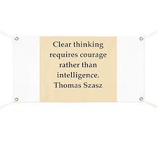 Thomas Szasz quote Banner
