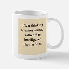 Thomas Szasz quote Mug