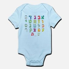 Aleph Bais Infant Bodysuit