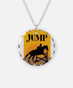 JUMP Necklace Circle Charm