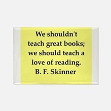 b f skinner quote Rectangle Magnet
