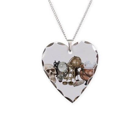 Cluttered_Witch_Corner Necklace Heart Charm