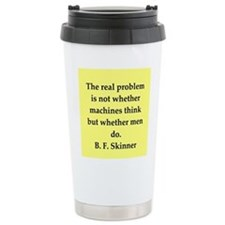 b f skinner quote Travel Mug