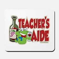 Teacher's Aide (Wine) Mousepad