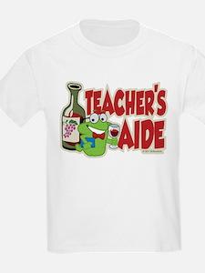 Teacher's Aide (Wine) T-Shirt