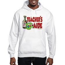 Teacher's Aide (Wine) Hoodie