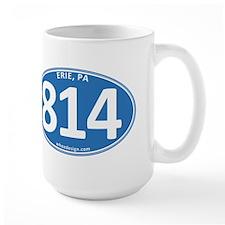 Blue Erie, PA 814 Mug
