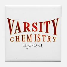 Varsity Chemistry 2 Tile Coaster