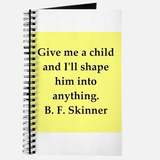 b f skinner quote Journal
