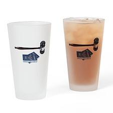 Gavel_And_Passport Drinking Glass