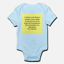 b f skinner quote Infant Bodysuit