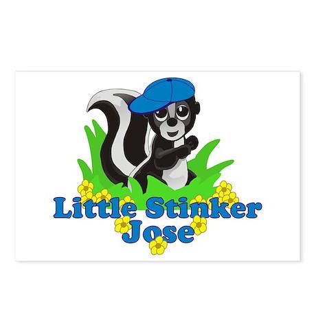 Little Stinker Jose Postcards (Package of 8)