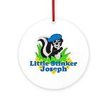 Little Stinker Joseph Ornament (Round)