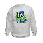 Little Stinker Joseph Kids Sweatshirt