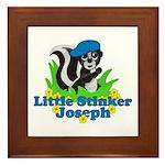 Little Stinker Joseph Framed Tile