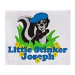 Little Stinker Joseph Throw Blanket