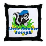 Little Stinker Joseph Throw Pillow
