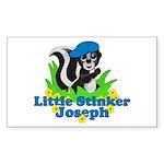 Little Stinker Joseph Sticker (Rectangle)