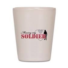 Missing my Soldier Shot Glass