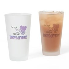 Not crazy - Deployed Drinking Glass