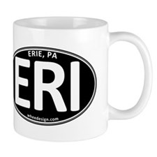 Black Oval ERI Mug